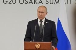 大阪で開かれた主要20カ国・地域(G20)首脳会議に出席したプーチン露大統領。ロシアはG20重視の姿勢を鮮明にしている=大阪市内で2019年6月、大前仁撮影