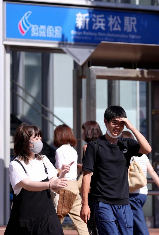 浜松市で今夏最高の40.9度を記録 全国で厳しい暑さ、午前中から猛暑日 ...