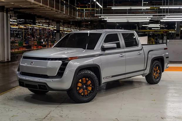 GMがバックアップするローズタウン社のピックアップ、エンジュランス。(提供ローズタウン)
