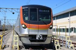 東京メトロ17000系。2021年2月から運転開始予定=筆者撮影