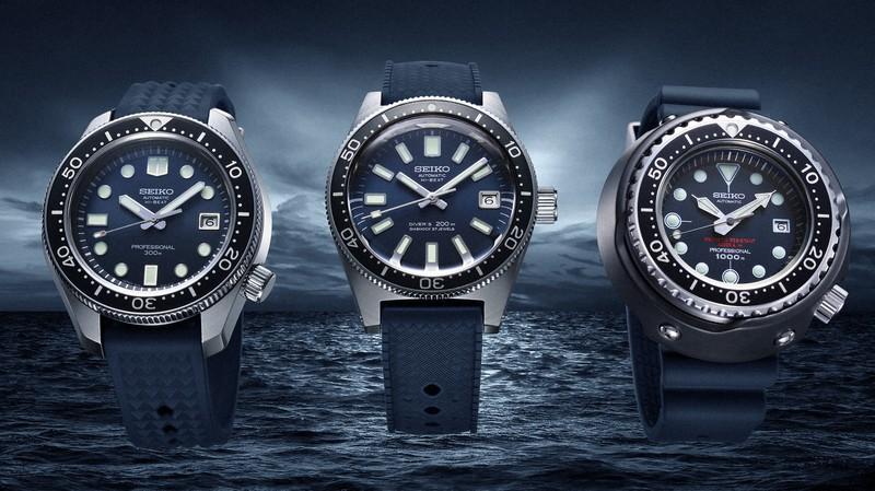 セイコーのダイバーズウオッチ55周年記念の新商品。腕時計のライバルはスマートウオッチか=セイコーウオッチ提供