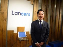 ランサーズの秋好陽介社長=東京都渋谷区で2020年7月7日、松岡大地撮影