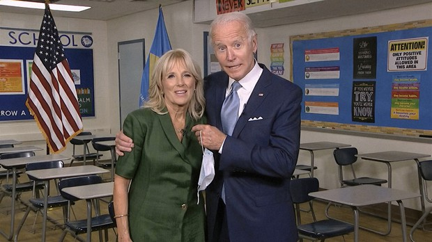 At Dnc Jill Biden Pledges Husband Joe Will Make Us Whole The Mainichi