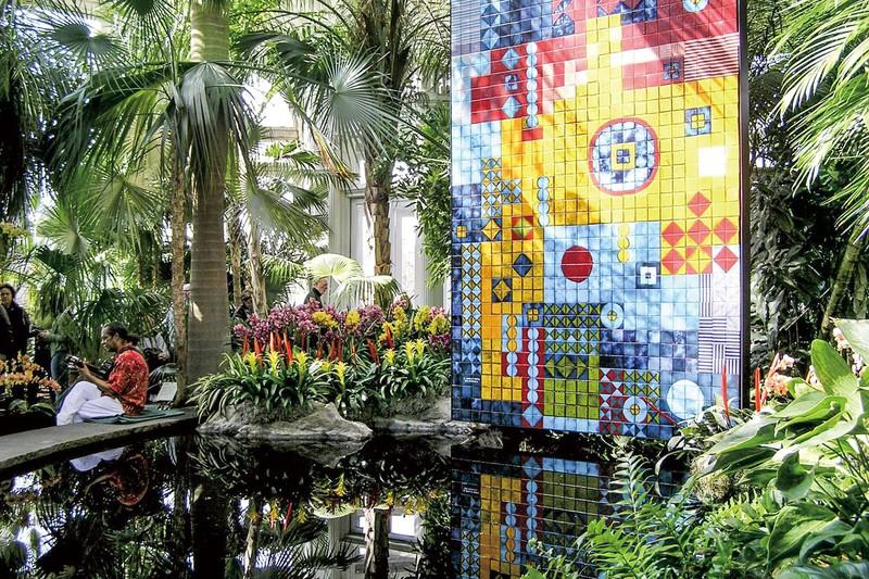 歴史あるニューヨーク植物園 (Bloomberg)