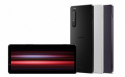SIMフリー版の発売が決まった「エクスペリア1マーク2」。通信事業者版にはない、すりガラスのような質感のフロストブラックも用意