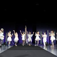 ステージに立つ義足のモデルたち=東京都港区で2020年8月25日午後8時39分、幾島健太郎撮影