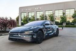 ルーシッド社が発表した新型EV「エア」のプロトタイプ (Bloomberg)