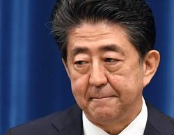 記者会見で辞意を表明する安倍晋三首相=首相官邸で2020年8月28日、竹内幹撮影