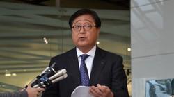 長く三菱自動車の経営トップを務めた益子修氏=東京都港区で2019年1月18日、柳沢亮撮影