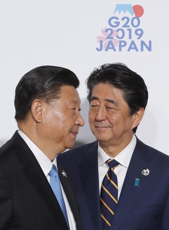 対中関係の再構築を図ったが……(大阪府で2019年6月28日)(Bloomberg)