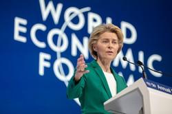 フォンデアライエン欧州委員長は、グリーンディールを「成長戦略」と位置づける(Bloomberg)