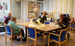 地域で生活する認知症の高齢者が日中を過ごす場所として機能しているデンマーク・オーデンセのデイサービス施設=筆者撮影
