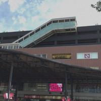 「アミュプラザおおいた」が入るJR大分駅の駅ビル「JRおおいたシティ」=江刺弘子撮影