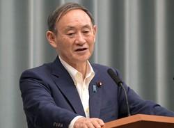 記者会見する菅義偉官房長官=首相官邸で2020年9月7日、竹内幹撮影