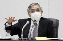 金融政策の余地は限られる……(記者会見する日本銀行の黒田東彦総裁)=2020年7月15日(代表撮影)