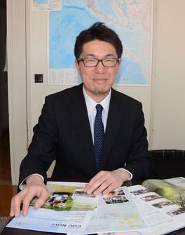 「『震災で形ある物が壊れても、人が学んだことは壊れない』という先生の言葉に支えられました」 撮影=菅野隆太