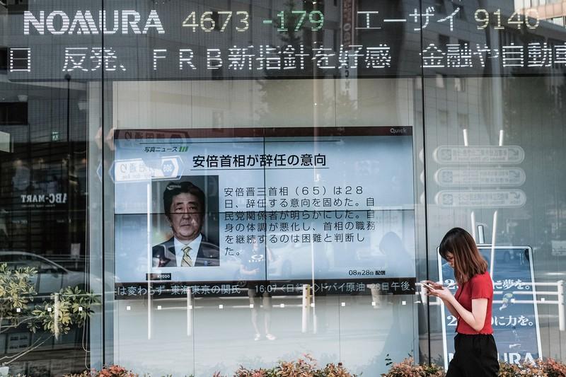 安倍首相辞任でも、資産価格は上がり続ける…… (Bloomberg)