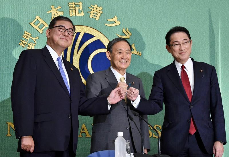 何もやってない…」気色ばむ菅氏 石破氏、岸田氏は「違い」アピール 総裁選討論会 | 毎日新聞