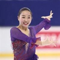 フィギュアスケート「ドリーム・オン・アイス」でフリーを披露する樋口新葉=横浜市のコーセー新横浜スケートセンターで9月13日(代表撮影)