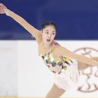 フィギュアスケート「ドリーム・オン・アイス」でフリーを披露する川畑和愛=横浜市のコーセー新横浜スケートセンターで9月13日(代表撮影)