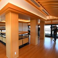 報道陣に公開された熊本城大天守の内部。6階からは熊本市内が一望出来る=熊本市中央区で2020年9月14日午後0時7分、矢頭智剛撮影