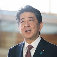 取材に応じる安倍晋三首相=首相官邸で2020年9月16日午前8時58分、吉田航太撮影