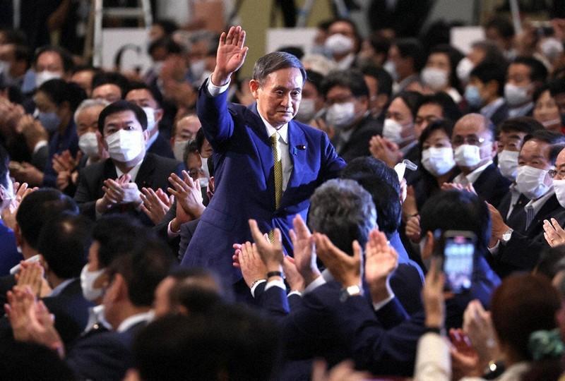 自民党総裁選 圧勝の菅さん、安倍路線「継承」
