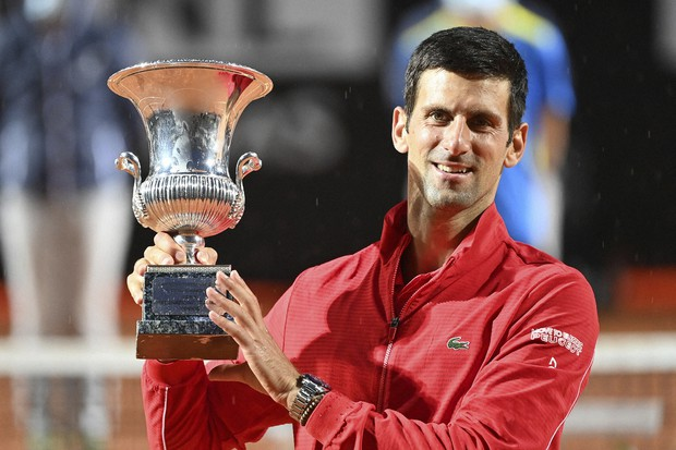 Djokovic Wins Rome Title I Moved On After Us Open Default The Mainichi