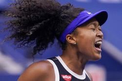 全米オープンテニスで優勝した大坂なおみ選手=2020年9月12日、AP