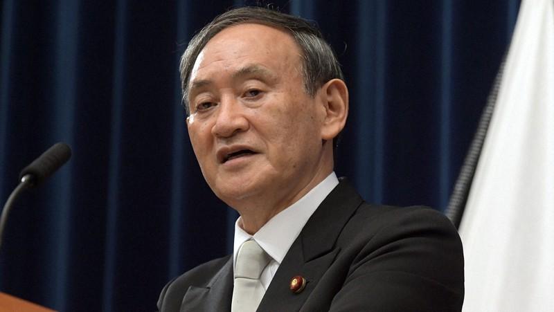 記者会見で「国民のために働く」と語った菅義偉首相=首相官邸で2020年9月16日、竹内幹撮影