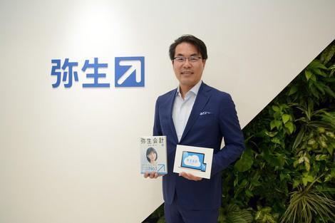 即日融資の仕組みを全国に広げる 岡本浩一郎 弥生社長