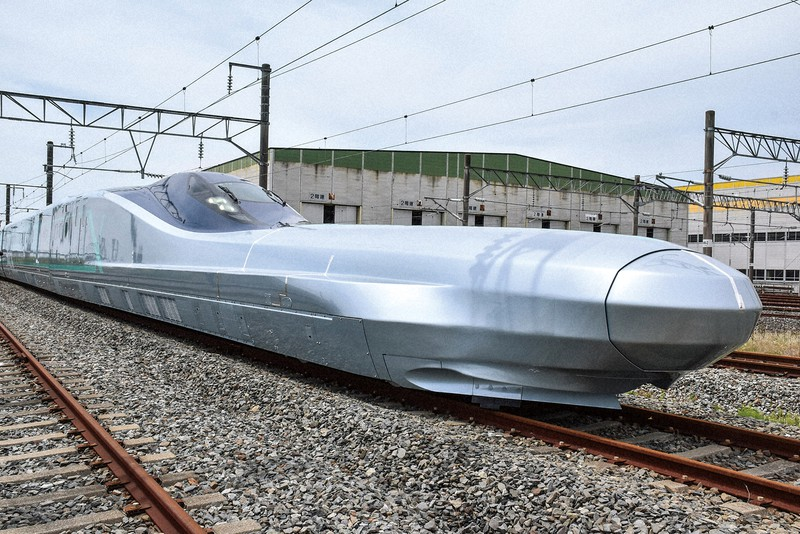 新幹線の利用客は戻っていない