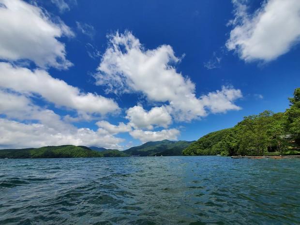 長野県信濃町の野尻湖(筆者提供)
