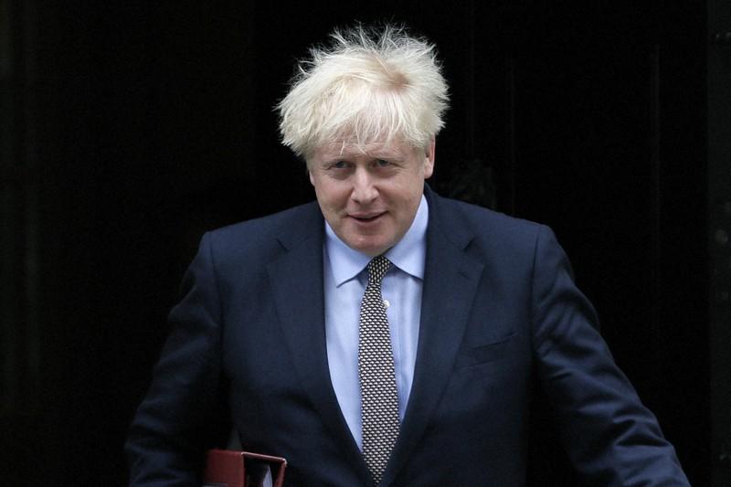 ジョンソン 首相 髪型