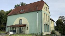 メルケルが少女時代を過ごした家は、今もドイツ東部テンプリンに残る=2020年9月19日、念佛明奈撮影