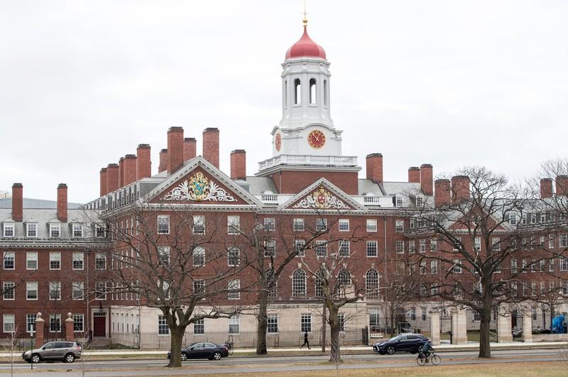 米ハーバード大。年々、日本の高校からの進学希望者が増えている(Bloomberg)