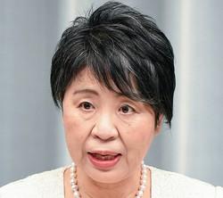 法相再登板となった上川陽子氏