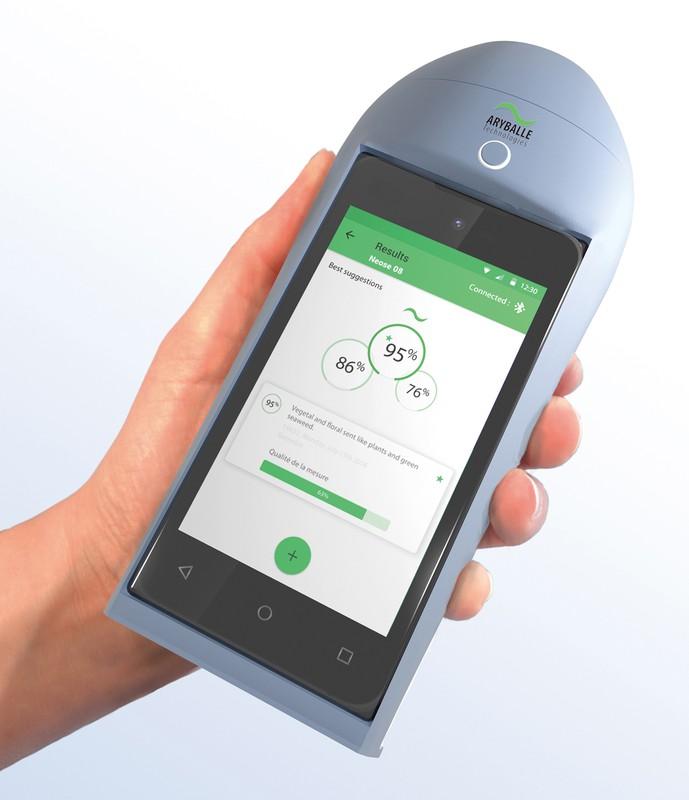 アリベールのユニバーサル嗅覚センサー「NeOse Pro」 アリベール・テクノロジーズ提供