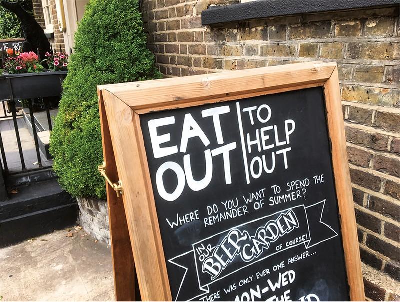 キャンペーンには8.5万件の飲食店が参加した 筆者撮影