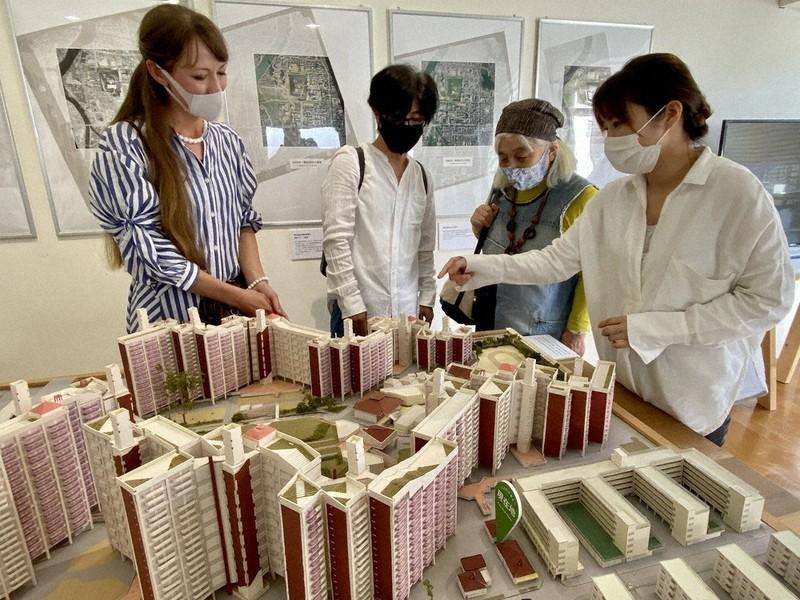 歴史、建築、地域 写真や模型で展示 基町知り、広島知る 広島市立大×中 ...