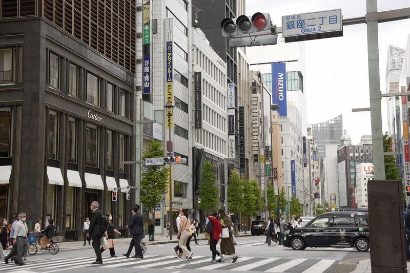 東京都中央区銀座2丁目で2020年9月29日、丸山博撮影