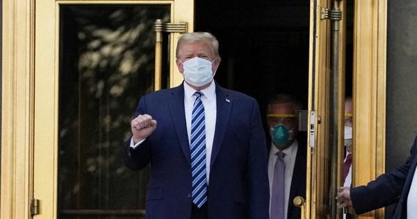 新型コロナ トランプ大統領退院