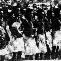 圧倒的な強さで2連覇を果たした京城師範=南甲子園運動場で1932年1月7日