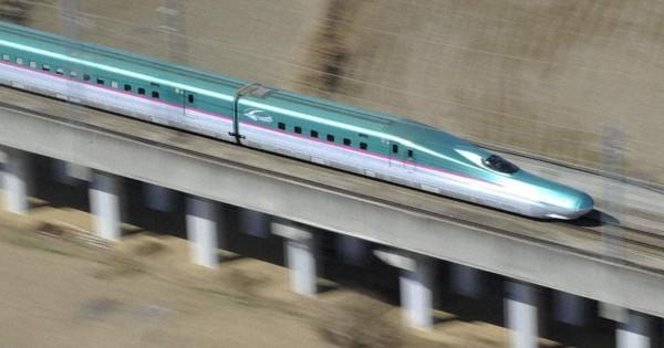 東北新幹線 盛岡-新青森間の最高速度320キロメートルへ