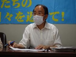 シェアハウス問題で記者会見する山口広弁護士=東京都千代田区で2020年8月11日、今沢真撮影