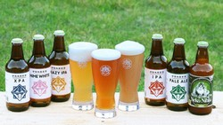 伊勢角屋麦酒のクラフトビール=同社提供