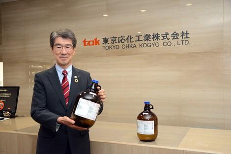 半導体製造用フォトレジストで首位 種市順昭 東京応化工業社長