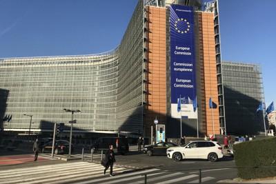 ブリュッセルの欧州委員会本部ビル