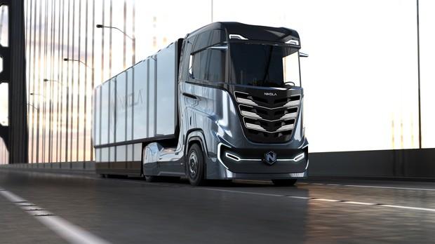 物流大動脈を支えると期待される水素トラック「二コラTre」(二コラ提供)