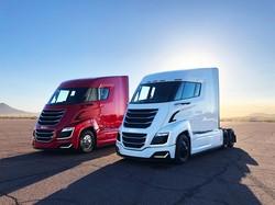 米新興クルマメーカー、二コラの水素トラック「二コラTwo」(二コラ提供)